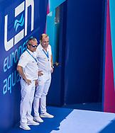 Referee<br /> GER - GEO<br /> Germany (white caps) vs Georgia (blue caps) <br /> Barcelona 18/07/18 Piscines Bernat Picornell <br /> Men qualification<br /> 33rd LEN European Water Polo Championships - Barcelona 2018 <br /> Photo Giorgio Scala/Deepbluemedia/Insidefoto