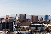 View of the Las Vegas Strip, NV, USA