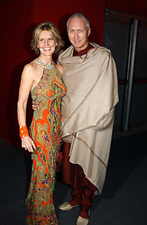"Fashion designer LINDKA CIERACH  and LANCELOT PEAWHISTLE at the 10th annual British Red Cross London Ball.  This years ball theme was Indian based - ""Yaksha - Yakshi: Doorkeepers to the Divine"" and was held at The Room, Upper Ground, London on 1st December 2004.  Proceeds from the ball will aid vital humanitarian work, including HIV/AIDS projects that the Red Cross supports in the UK and overseas.<br />