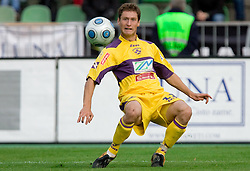 Dragan Jelic of Maribor at 13th Round of Prva Liga football match between NK Olimpija and Maribor, on October 17, 2009, in ZAK Stadium, Ljubljana. Maribor won 1:0. (Photo by Vid Ponikvar / Sportida)