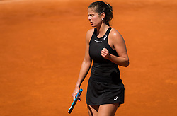 May 5, 2019 - Madrid, MADRID, SPAIN - Julia Goerges of Germany in action during her first-round match at the 2019 Mutua Madrid Open WTA Premier Mandatory tennis tournament (Credit Image: © AFP7 via ZUMA Wire)