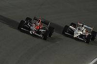 Marco Andretti, Dan Wheldon, Cafes do Brasil Indy 300, Homestead Miami Speedway, Homestead, FL USA,10/2/2010