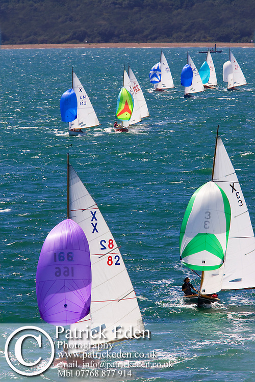 X 166, SWALLOW, OR, X 82, MAGIC DRAGON, X 3, SILHOUETTE, Cowes Week, 2008, Isle of Wight Photographs of the Isle of Wight by photographer Patrick Eden photography photograph canvas canvases