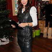 NLD/Amsterdam/20111208- Sky Radio Christmas tree for Charity, Marielle Bastiaansen