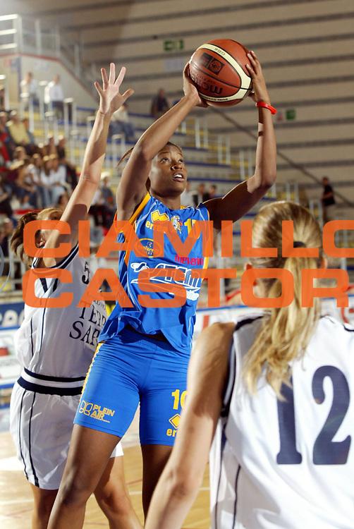 DESCRIZIONE : Taranto Lega A1 Femminile 2005-06 Terra Sarda Alghero Stem Marine Parma <br /> GIOCATORE : Jones <br /> SQUADRA : Stem Marine Parma <br /> EVENTO : Campionato Lega A1 Femminile  2005-2006 <br /> GARA : Terra Sarda Alghero Stem Marine Parma <br /> DATA : 02/10/2005 <br /> CATEGORIA : <br /> SPORT : Pallacanestro <br /> AUTORE : Agenzia Ciamillo-Castoria