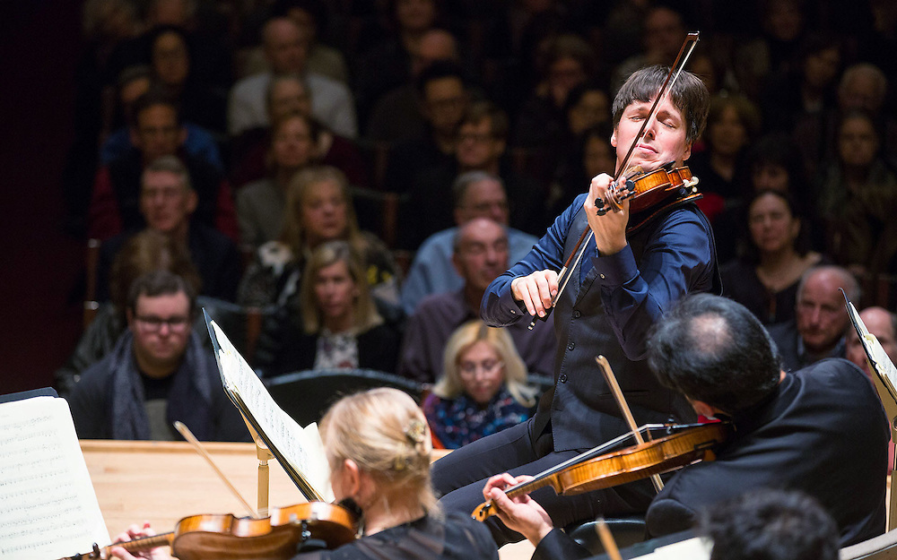 Joshua Bell, Academy of St Martin in the Fields in concert at Symphony Hall, Boston