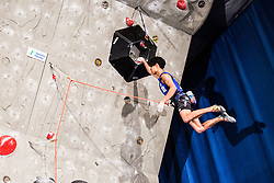 HARADA Kai of Japan during Finals IFSC World Cup Competition in sport climbing Kranj 2019, on September 29, 2019 in Arena Zlato polje, Kranj, Slovenia. Photo by Peter Podobnik / Sportida