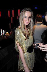 JEMIMA CADBURY at the Tatler Little Black Book Party held at Chinawhite, 4 Winsley Street, London on 20th November 2009.