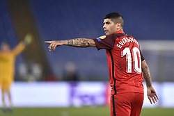February 14, 2019 - Rome, Rome, Italy - Ever Banega of Sevilla during the UEFA Europa League round of 32 match between Lazio and Sevilla at Stadio Olimpico, Rome, Italy on 14 February 2019. (Credit Image: © Giuseppe Maffia/NurPhoto via ZUMA Press)