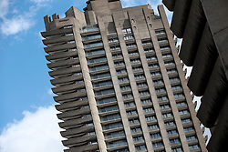 UK ENGLAND LONDON 21JUL15 - The Barbican in central London.<br /> <br /> The Barbican Complex is a prominent example of British brutalist architecture and is Grade II listed as a whole. The Barbican Estate also contains the Barbican Centre (an arts, drama and business venue), the Barbican public library, the City of London School for Girls, the Museum of London, and the Guildhall School of Music and Drama.<br /> <br /> <br /> <br /> jre/Photo by Jiri Rezac / Greenpeace<br /> <br /> <br /> <br /> © Jiri Rezac 2015