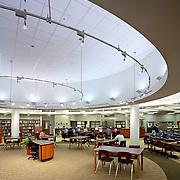 Staples High School, Library.