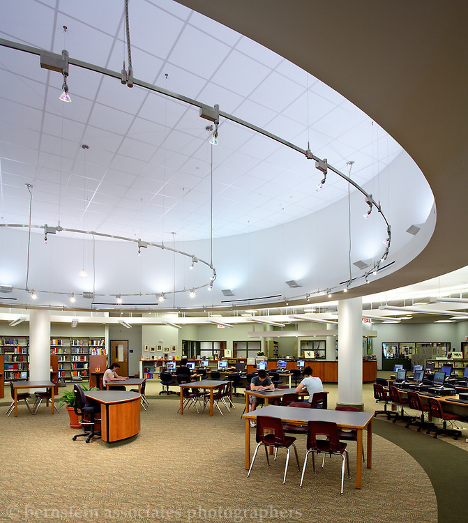 Staples High School, Library.
