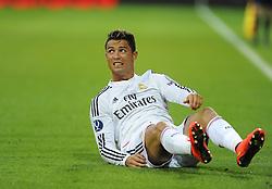 Real Madrid's Cristiano Ronaldo - Photo mandatory by-line: Joe Meredith/JMP - Mobile: 07966 386802 12/08/2014 - SPORT - FOOTBALL - Cardiff - Cardiff City Stadium - Real Madrid v Sevilla - UEFA Super Cup
