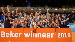 17-02-2019 NED: National Cupfinal Sliedrecht Sport - Apollo 8, Zwolle<br /> Sliedrecht Sport Cup winner 2019