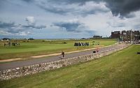 ST. ANDREWS -Schotland-GOLF. Road Hole (17e) Old Course. COPYRIGHT KOEN SUYK
