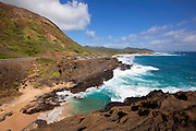 Halona beach, Blowhole , Oahu, Hawaii