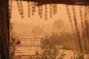 Israel, Negev, Mitzpe Ramon, A desert sand storm