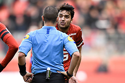 October 28, 2018 - Rennes, France - 08 CLEMENT GRENIER (REN) - COLERE (Credit Image: © Panoramic via ZUMA Press)