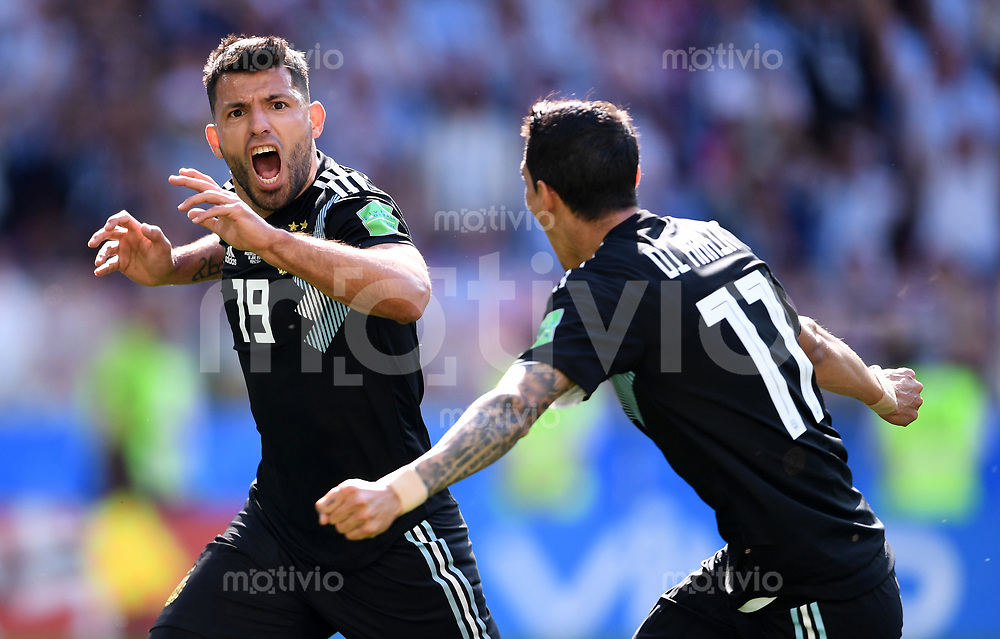 Fussball Wm 2018 Vorrunde Argentinien Island Sportfotos