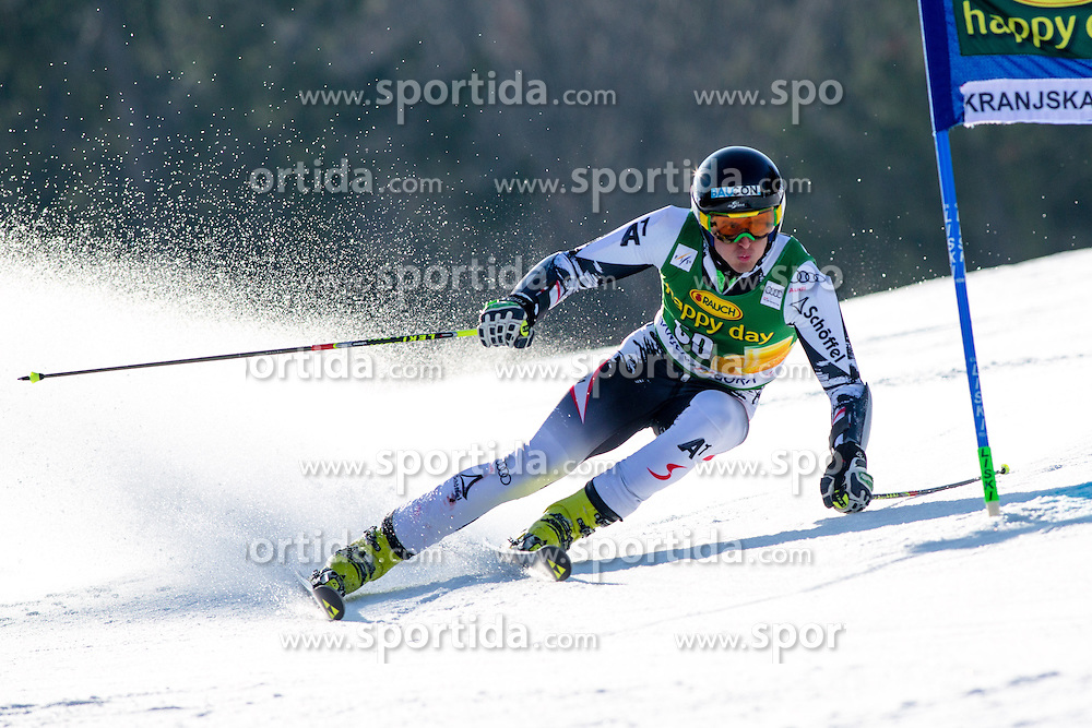 BRENNSTEINER Stefan of Austria during the 1st Run of Men's Giant Slalom - Pokal Vitranc 2014 of FIS Alpine Ski World Cup 2013/2014, on March 8, 2014 in Vitranc, Kranjska Gora, Slovenia. Photo by Matic Klansek Velej / Sportida