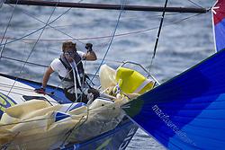 June 5, 2017 - EN MER - Charlie Dalin (Skipper Macif 2015) lors de la 1ere etape de la Solitaire Urgo Le Figaro 2017 entre Bordeaux et Gijon - Pauillac le 05/06/2017 (Credit Image: © Panoramic via ZUMA Press)