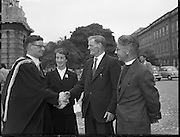 Degrees at TCD .04/07/1957