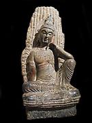 bodhisattva avalokitesvara, Chinese Song Dynasty Buddhist sculpture. 960-1279 AD