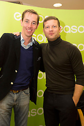 Repro Free: 13/11/2014 Dermot O&rsquo;Leary pictured here with Ryan Tubridy at the signing of his new book, &lsquo;The Soundtrack to My Life&rsquo;, today in Eason O&rsquo;Connell Street. O&rsquo;Leary&rsquo;s book, The Soundtrack to My Life, is currently on sale in Eason stores nationwide and online at www.easons.com retailing at &euro;18.99. Picture Andres Poveda<br />  <br /> For further information, please contact: <br /> Shane Lennon @ Wilson Hartnell<br /> 087 900 0320 / 01 669 0030