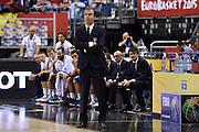 DESCRIZIONE : Berlino Eurobasket 2015 Group B Serbia Italia Serbia Italy<br /> GIOCATORE :&nbsp;Simone Pianigiani<br /> CATEGORIA : nazionale maschile senior A<br /> GARA : Berlino Eurobasket 2015 Group B Serbia Italia Serbia Italy<br /> DATA : 10/09/2015<br /> AUTORE : Agenzia Ciamillo-Castoria