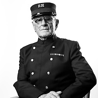 Arthur Walters<br /> 1952-1954<br /> 1960-1982<br /> PASC<br /> Tank Transport<br /> Sergeant<br /> MBE<br /> <br /> Veterans Portrait Project<br /> Royal Hospital Chelsea<br /> Chelsea London, UK