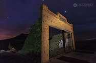 Old general store at the Ghost town of Rhyolite, Nevada, USA