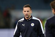 Leicester City midfielder Danny Drinkwater (4)  during the Barclays Premier League match between Leicester City and Newcastle United at the King Power Stadium, Leicester, England on 14 March 2016. Photo by Simon Davies.
