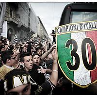 Juventus festa per lo scudetto