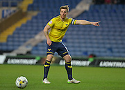 Oxford United Defender Johnny Mullins during the Sky Bet League 2 match between Oxford United and York City at the Kassam Stadium, Oxford, England on 1 March 2016. Photo by Adam Rivers.