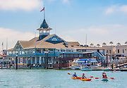 Kayaking by The Balboa Pavilion