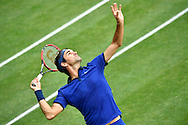 Roger Federer during the Mercedes Cup at Tennisclub Weissenhof, Stuttgart<br /> Picture by EXPA Pictures/Focus Images Ltd 07814482222<br /> 08/06/2016<br /> *** UK & IRELAND ONLY ***<br /> EXPA-EIB-160608-0092.jpg