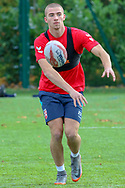 Leeds Rhinos' Jack Walker during the England Knights training session at Leigh Sports Village, Leigh<br /> Picture by Steve McCormick/Focus Images Ltd 07545 862647<br /> 17/10/2018