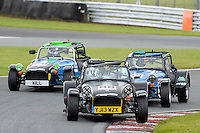 #88 Daniel Quintero Caterham Roadsport during the Avon Tyres Caterham Roadsport Championship at Oulton Park, Little Budworth, Cheshire, United Kingdom. August 13 2016. World Copyright Peter Taylor/PSP.