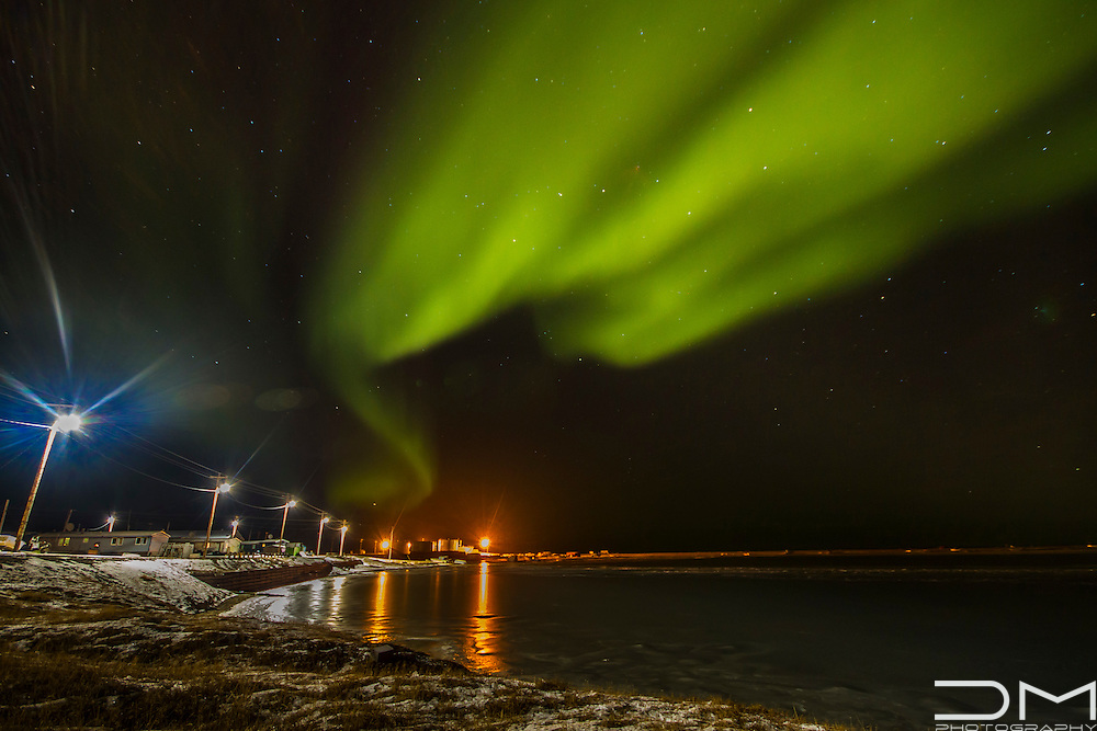 Northern Lights in Kaktovik, Alaska.