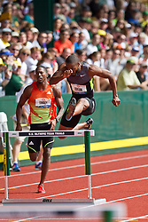 2012 USA Track & Field Olympic Trials: mens 400 hurdles, Angelo Taylor