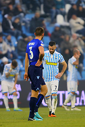 "Foto Filippo Rubin<br /> 06/01/2018 Ferrara (Italia)<br /> Sport Calcio<br /> Spal - Lazio - Campionato di calcio Serie A 2017/2018 - Stadio ""Paolo Mazza""<br /> Nella foto: MIRCO ANTENUCCI (SPAL)<br /> <br /> Photo by Filippo Rubin<br /> January 06, 2018 Ferrara (Italy)<br /> Sport Soccer<br /> Spal vs Lazio - Italian Football Championship League A 2017/2018 - ""Paolo Mazza"" Stadium <br /> In the pic: MIRCO ANTENUCCI (SPAL)"