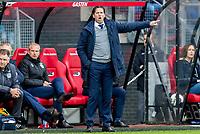 ALKMAAR - 01-04-2017, AZ - FC Groningen, AFAS Stadion, 0-0, FC Groningen trainer/coach Ernest Faber