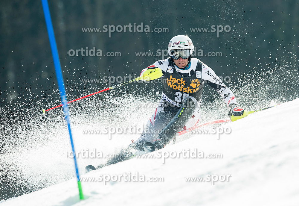 DIGRUBER Marc of Austria competes during 1st Run of Men Slalom race of FIS Alpine Ski World Cup 54th Vitranc Cup 2015, on March 15, 2015 in Kranjska Gora, Slovenia. Photo by Vid Ponikvar / Sportida