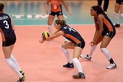 24-09-2014 ITA: World Championship Volleyball Thailand - Nederland, Verona<br /> Anne Buijs, Celeste Plak