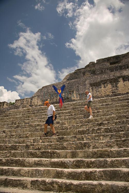 Xunantunich Mayan site, Cayo District, Belize