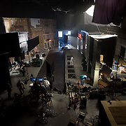 January 10, 2016 - New York, NY : Mars Incorporated enlisted the advertising agency BBDO -- as well as some notable Hollywood actors -- to create a 2016 Superbowl advertisement for their iconic Snickers candy bar at 19th Street Studios in Astoria, Queens, New York City on Sunday, Jan. 10. Here, a view of the set on Sunday. CREDIT: Karsten Moran for The New York Times