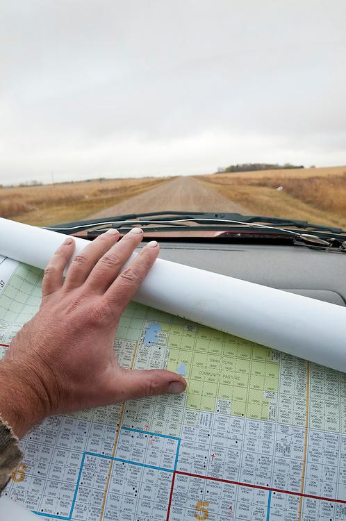 Saskatchewan goose hunting, RM maps, SK, Canada