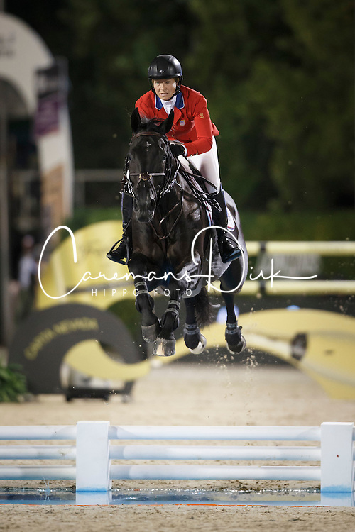 Madden Beezie, (USA), Cortes C<br /> Final<br /> Furusiyya FEI Nations Cup Jumping Final - Barcelona 2015<br /> &copy; Dirk Caremans<br /> 26/09/15