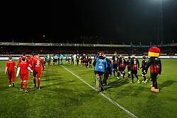line up Excelsior v FC Twente during the Dutch Eredivisie match between sbv Excelsior Rotterdam and FC Twente at Van Donge & De Roo stadium on December 23, 2017 in Rotterdam, The Netherlands