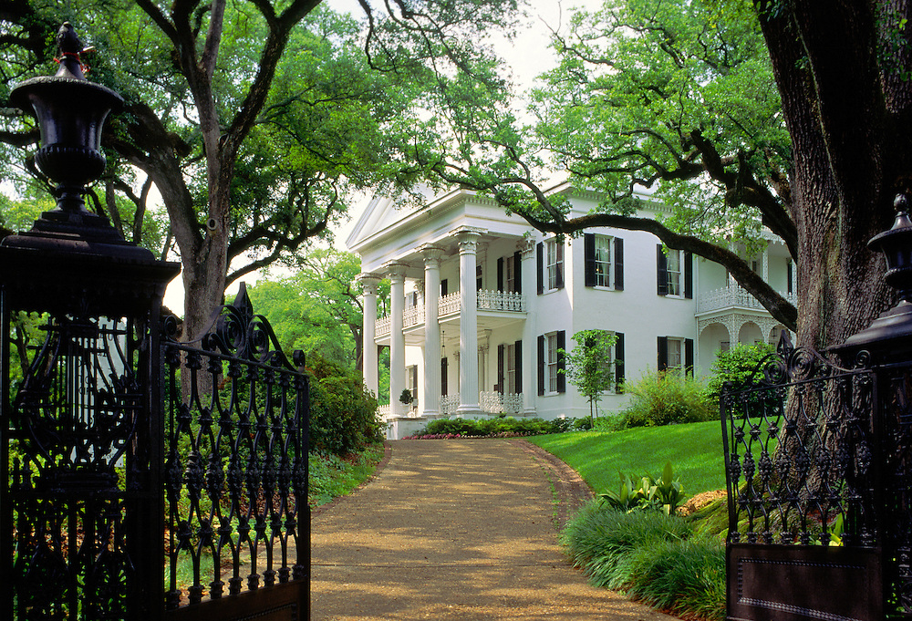Natchez, Mississippi, USA. Stanton Hall antebellum plantation mansion house